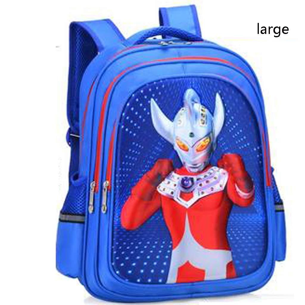 C 29x16x39cm CHERSH Borse da Scuola for Bambini Borsa da Viaggio College Superhero Zaino Borsa da Pranzo negozioping Zaino Borsa da Viaggio (Coloree   A, Dimensione   29x16x39cm)