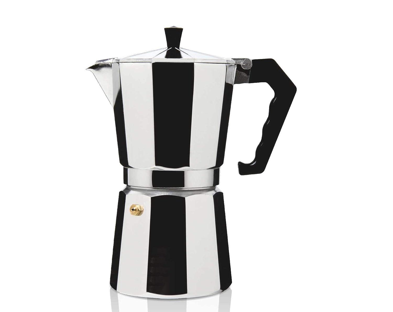 HAEGER Moka Pot 12 - Cafetera Italiana para Uso en Todos los ...