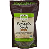 NOW Foods, Pumpkin Seeds, Raw and Unsalted, Essential Fatty Acids, Rich in Iron, Excellent Source of Protein, Certified…