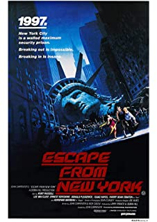 MCP200 Posters USA Escape From New York Movie Poster Glossy Finish