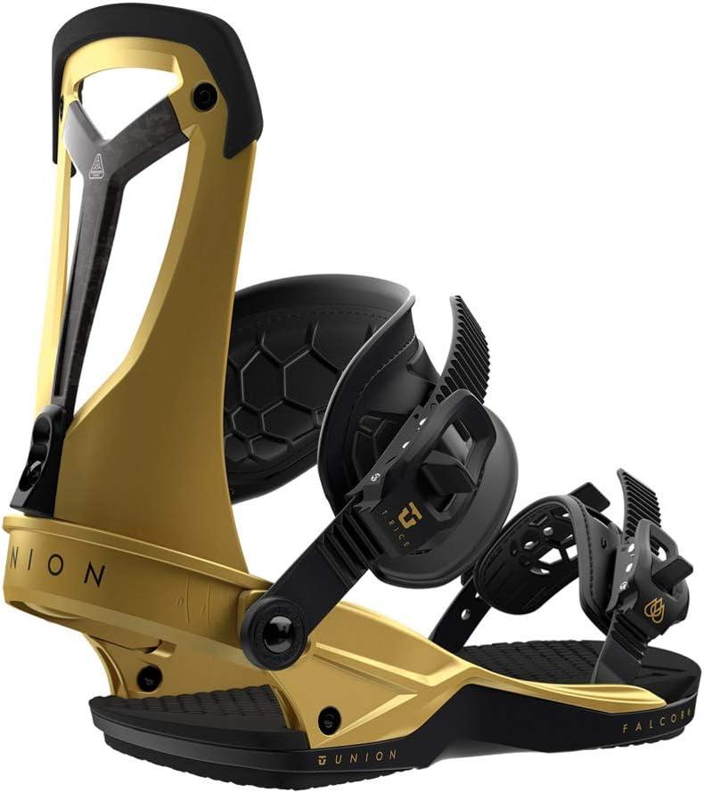 Union Falcor スノーボードバインディング メンズ ゴールド Large