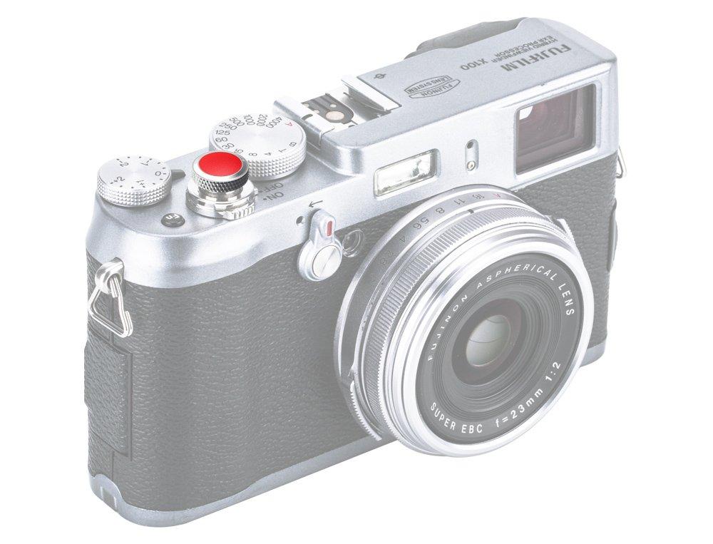 Gatillo ergon/ómico * Cuero artificial y cobre Bot/ón de liberaci/ón suave Entre otras cosas para Fujifilm Fuji X100F X-T20 X-T2 X-PRO2 X100T X-E3 XPRO-1 X-T10 X100 X100S X-E2S X30 X20 X10 ...