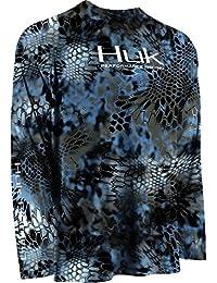 Huk Performance Fishing Men's Kryptek Raglan Long Sleeve Shirt - H1200022ty2