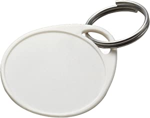 Lucky Line Plastic Tag, 100 Pack, White (25175)