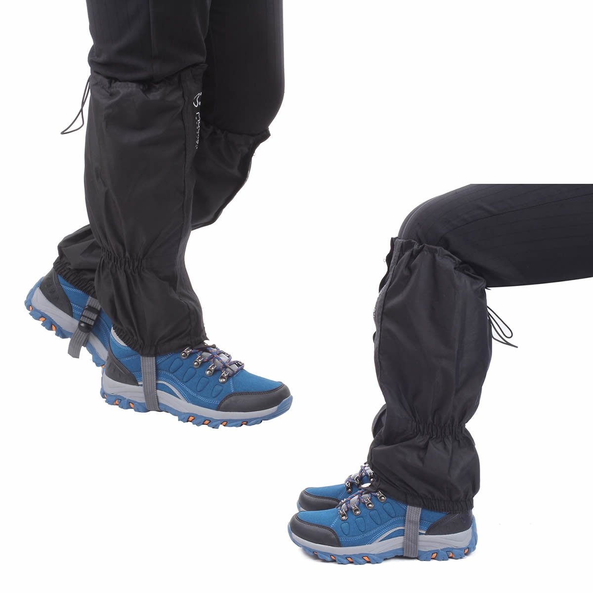 Macks.i Outdoor Unisex Waterproof Camping Hiking Gaiters High Leg Cover 1pair with a Free Shoe Bag by Macks.i (Image #7)