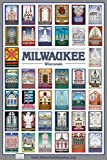 Milwaukee Neighborhoods Combination Poster