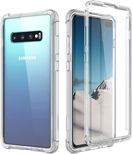 Ultra Hybrid Gray Dexnor Compatible with Samsung Galaxy S10 Plus ...