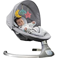 Nova Baby Swing for Infants - Motorized Portable Swing, Bluetooth Music Speaker with 10 Preset Lullabies, Remote Control…