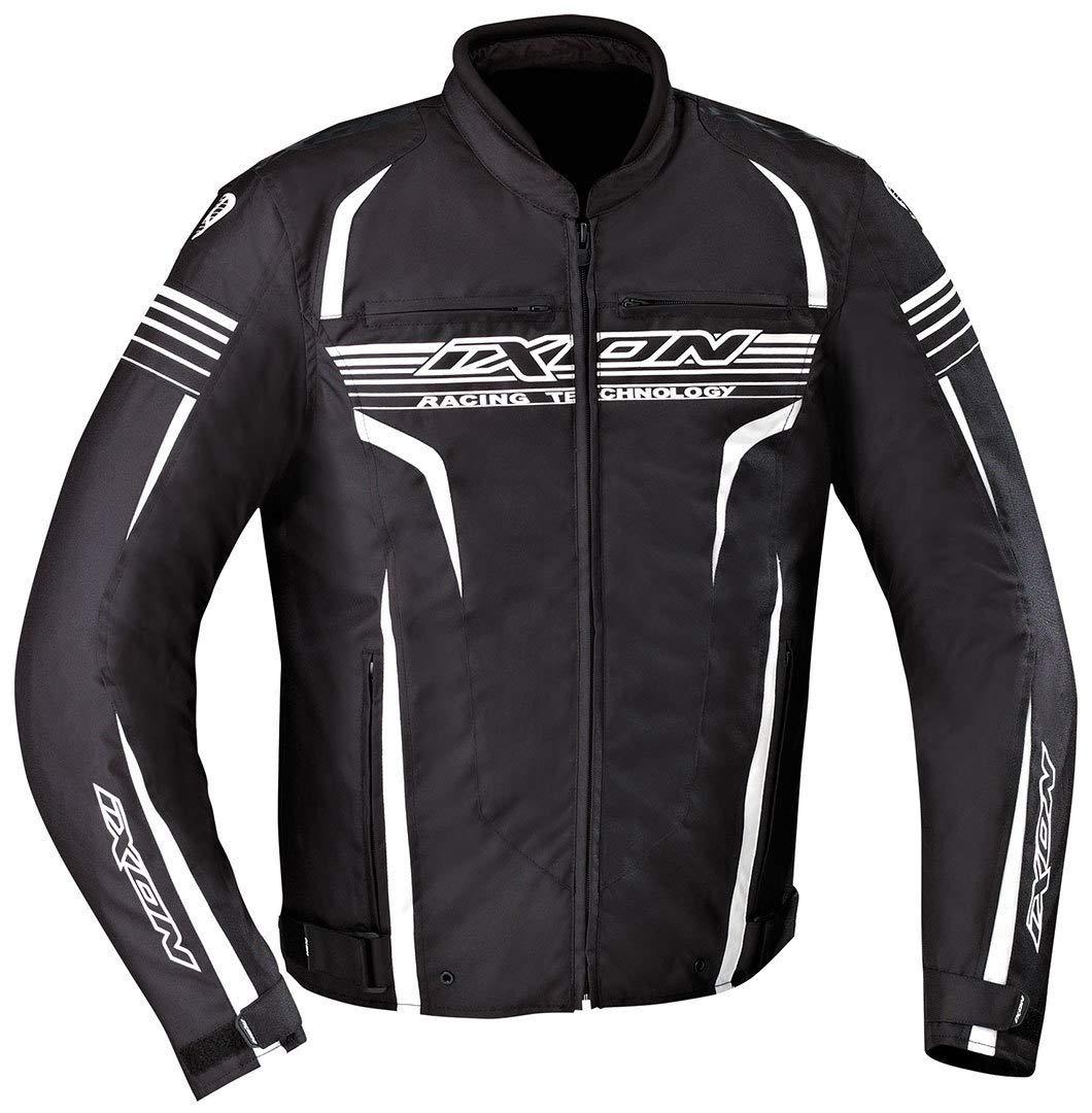 Ixon - Chaqueta Moto - Ixon Striver Negro/Blanco - XXL ...