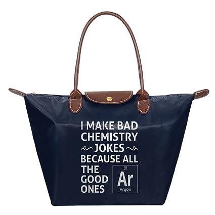 Amazon Com Ojinwangji I Make Bad Chemistry Jokes Waterproof Leather