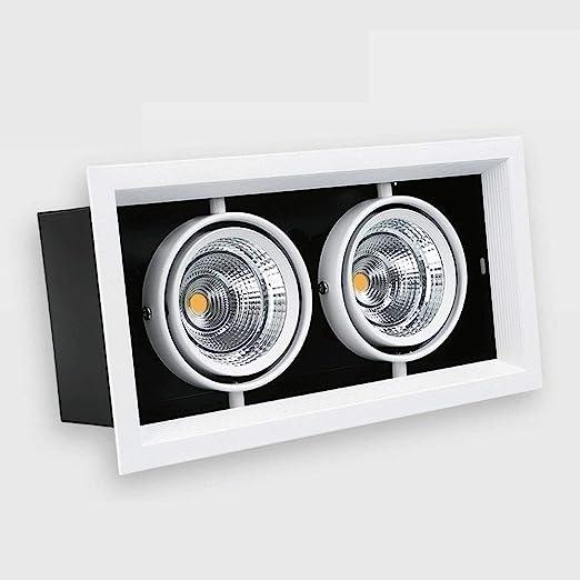 Inicio Comercial empotrada Downlight cuadrado moda COB proyector ...