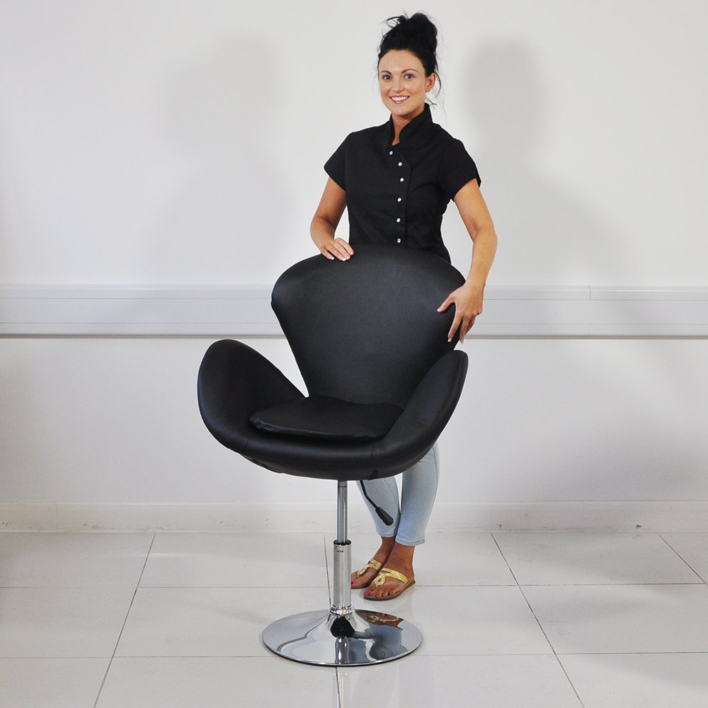 chair polyurethane pod prod beauty chairs salon central vezzosi ebay base with hydraulic product pump