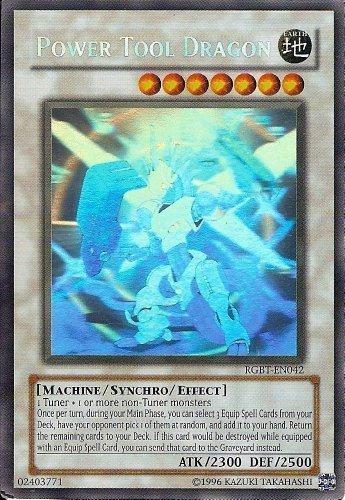 Yu-Gi-Oh! - Power Tool Dragon (RGBT-EN042) - Raging Battle - Unlimited Edition - Ghost Rare