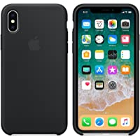 Capa Iphone X Silicone Case Preto