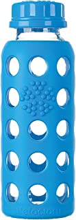 product image for Lifefactory Kids Glass Water Bottle with Silicone Sleeve