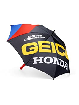 Paraguas 100 Percent Honda Geico Strike negro (default, Negro)