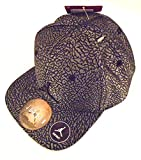 NIKE Air Jordan 1 Retro Unsupreme Elevated Elephant Print Court Cap Snapback Hat (Cool Grey/Silver) INFANT 12-24