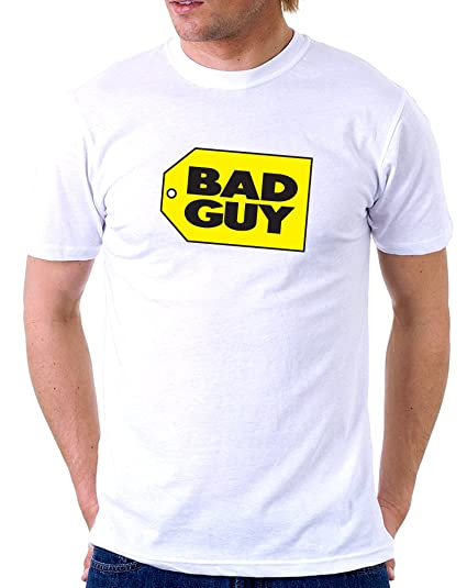 8657174e3f030 Egoteest Funny Mens t Shirts - Bad Guy - Funny Tshirts - Husband Gifts -  Adult
