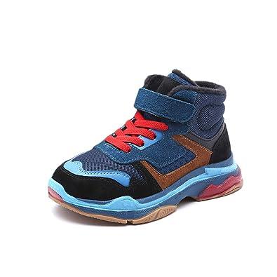 Kinder Warm High Top Sneakers Freizeitschuhe mit