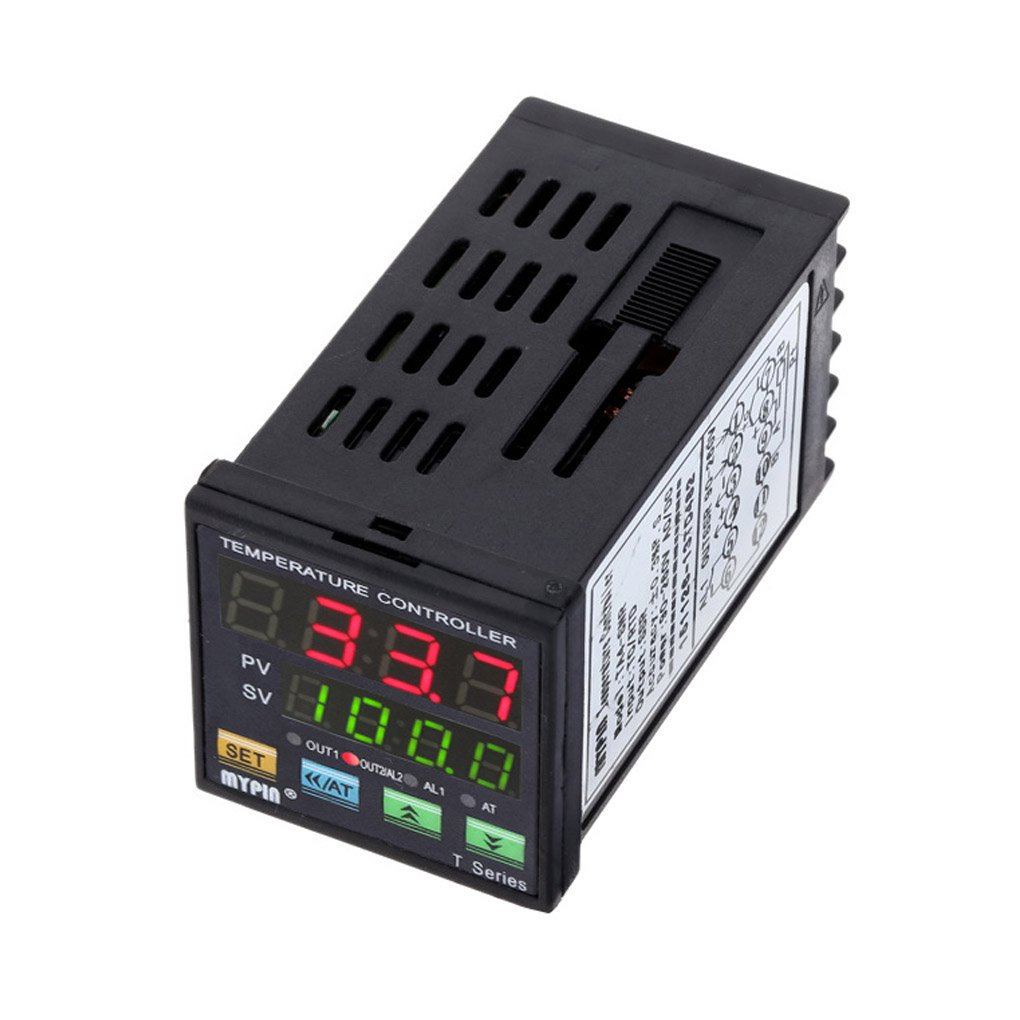 Ben-gi MyPin TA4-SNR Controlador de Temperatura Dual F//C PID Control del termostato SSR Digital de Salida de Alarma