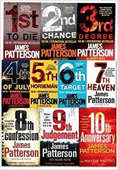 Book Womens Murder Club Collection By James Patterson 10 Books Set (Books 1 To 10)
