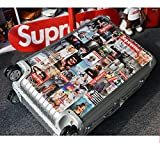 #5: Laptop Stickers [107pcs], Toufftek Vinyl Sticker Graffiti Bomb Decal Perfect to Personalize Laptops, Skateboards, Luggage, Cars, Bumpers, Bikes, Motorcycle, Helmet, Window, Guitar, Snowboard Stickers