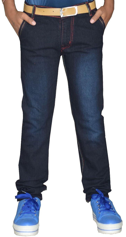 Buy Tara Lifestyle Boy's Slim Fit Jeans (Jeans-Royal  Black-01--36_Black_9-10 Years) at Amazon.in