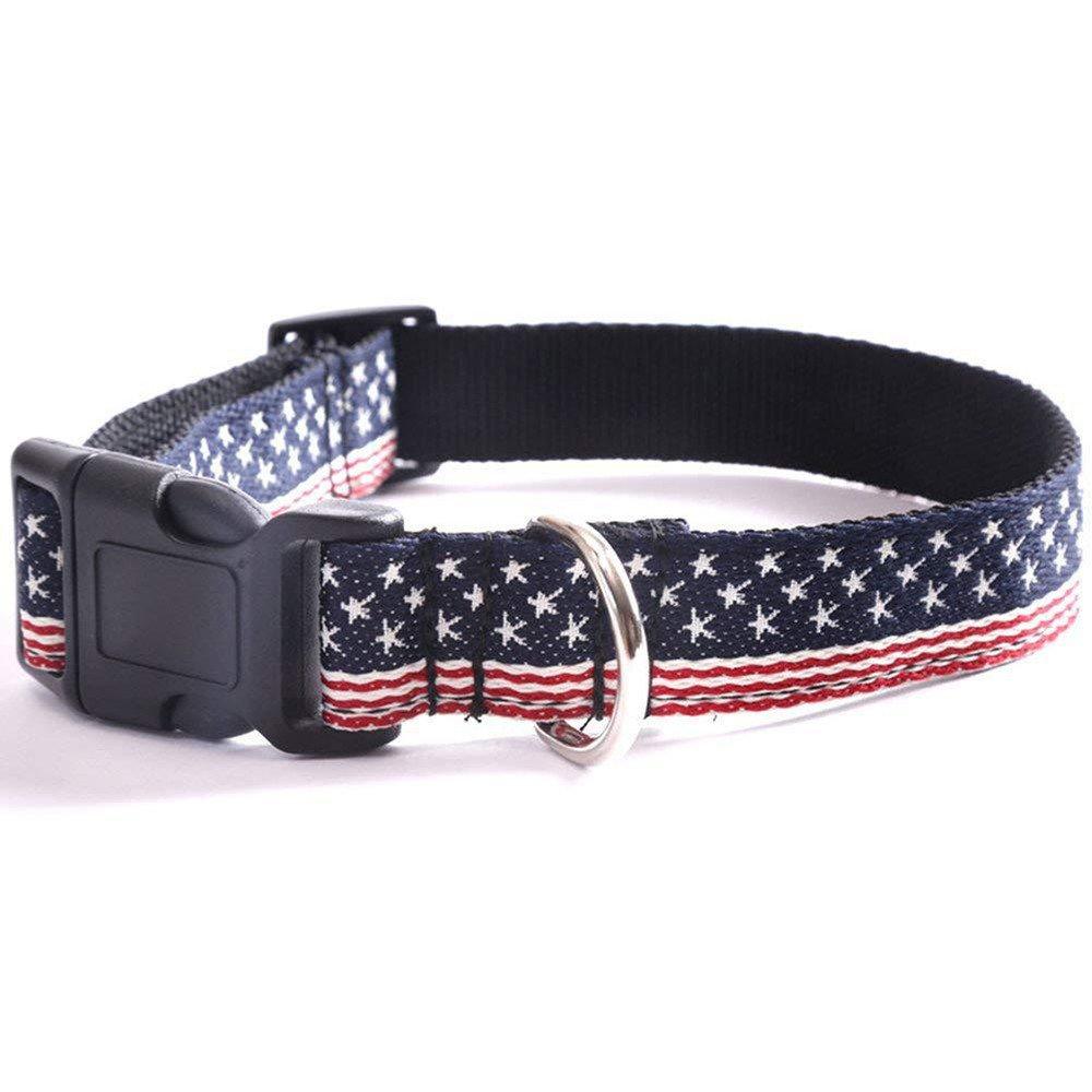 Pet Collars Can Adjust Large Dog Pet Pet 30-50Cm in Dog Collar.