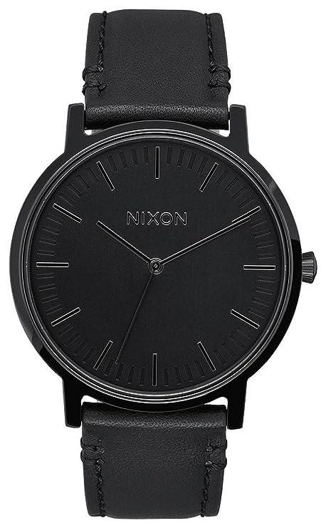 Nixon – Reloj analógico de Cuarzo para Hombre con Correa de Piel a1058001 – 00