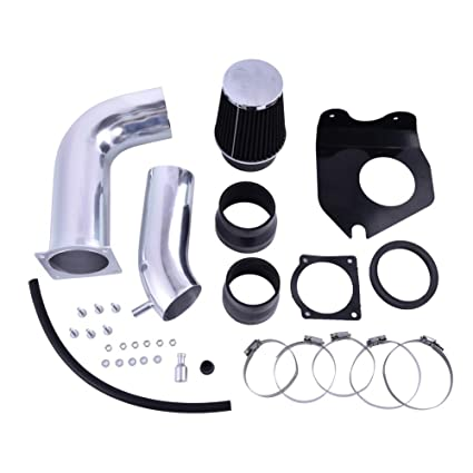 red Intake Pipe Performance Cold Air Intake Induction Kit With Filter For 1999-2004 Ford Mustang V6 3.8L