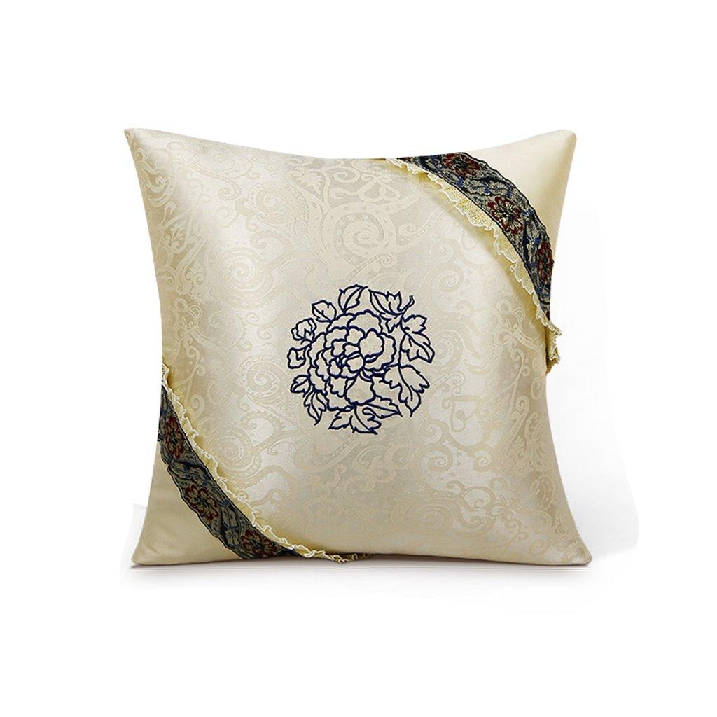 WAN SAN QIAN- Back Cushion Bamboo Charcoal Car Back Cushion Two Loaded Pillow Back Support Cushion(4040cm) Back Cushion ( Color : Color-c ) by Back Cushion
