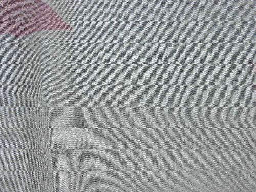 リサイクル 着物 襦袢  袖無双 折鶴文様 裄60cm 身丈119cm 正絹