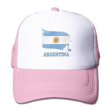 Bandera de Argentina Fútbol Fútbol Vintage Lavado Sombrero de ...