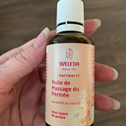weleda perineum massage olja