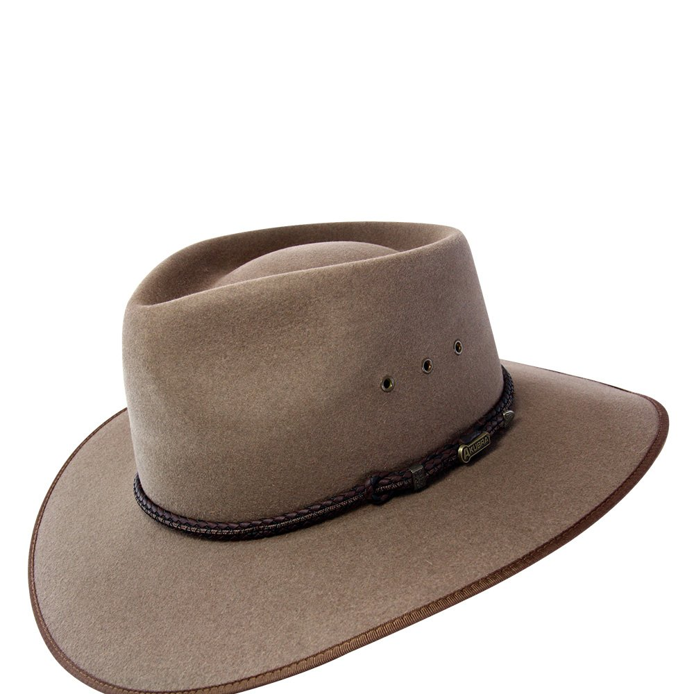 f1776800fe708 Akubra Cattleman Hat - Bran - NEW SEASON COLOUR at Amazon Men s Clothing  store