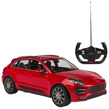 RASTAR - Coche teledirigido 1:14, Porsche Macan Rojo (ColorBaby 75995): Amazon.es: Juguetes y juegos