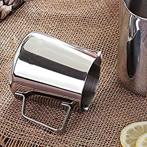 Kslong Stainless Steel Espresso Coffee Pitcher Craft Latte Milk Frothing Jug Cup Coffee Maker Cappuccino Kitchen Gadgets by Kslong