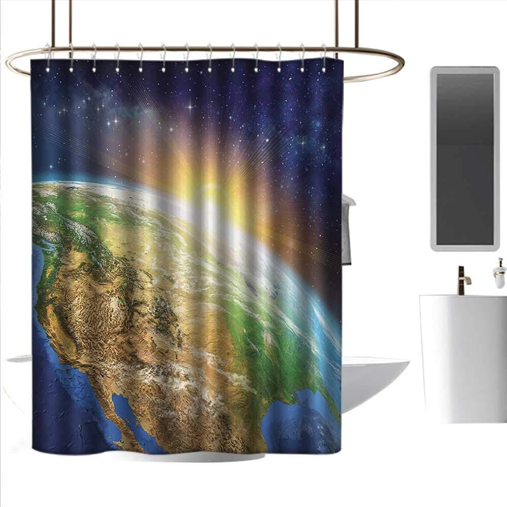 Shower Curtains With Valance Attached.Amazon Com Coolteey Shower Curtains With Valance Attached