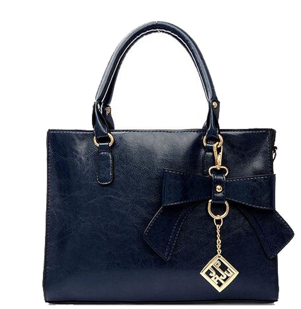 bluee Joyloading Luxury Formal Elegant Women Bowknot Handbag
