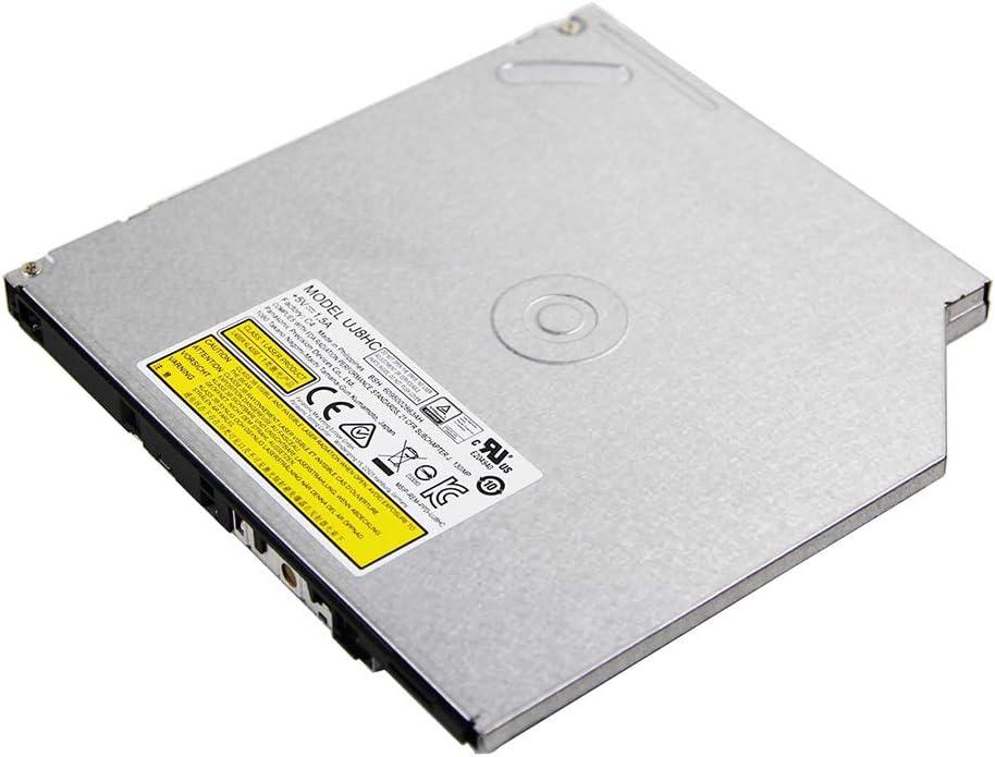 Notebook PC Internal Double Layer 8X DVD RW DL Writer, for Matshita DVD-RAM UJ8HC UJ-8HC, 24X CD-RW Burner 9mm SATA Optical Drive Replacement for Lenovo Acer Asus Laptop