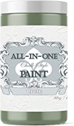 Crete, Heritage Collection All In One Chalk Style Paint (NO WAX!) (8oz Sample)