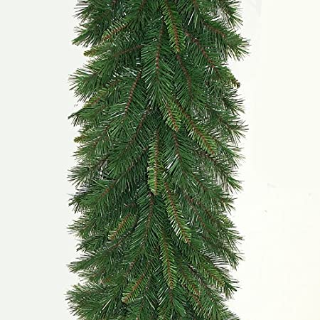 High Quality Plain Spruce Artificial Christmas Garland 9ft 2 7m Long With 14 35cm Wide Tips For Outdoor And Indoor Use Amazon Co Uk Kitchen Home