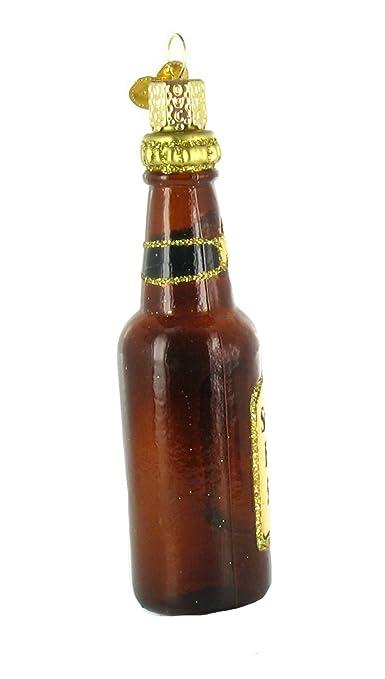 Viejo Mundo Navidad adorno cerveza botellas: Amazon.es: Hogar
