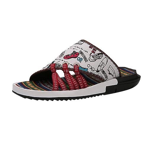 chaussures de sport 824ff c85a9 Pantoufles De Plage pour Femme Homme Élégant Tendance ...