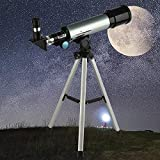 Telescope for Kids and Lunar Beginners, 90x