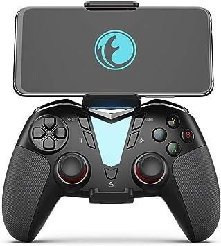 Compatible con iOS iPhone Controlador de Juegos Samsung Galaxy. Android PowerLead Controlador port/átil PG8710 Bluetooth 4.0 Wireless Gamepad iPad Ideal para pubg y fot/ógrafos y Otros