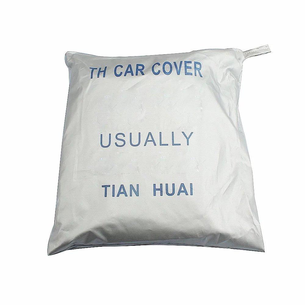 Feikai Car Cover,Universal Anti Sun UV Rain Styling Sunshade Heat Protection Dust Moist Water Resistan Dustproof Protective Outdoor Full Car Cover
