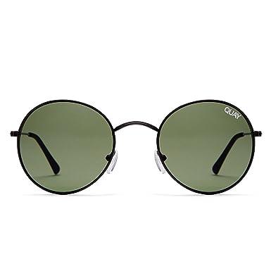 525d16b002a Quay Australia MOD STAR Women s Sunglasses Vintage Small Round - Black Green