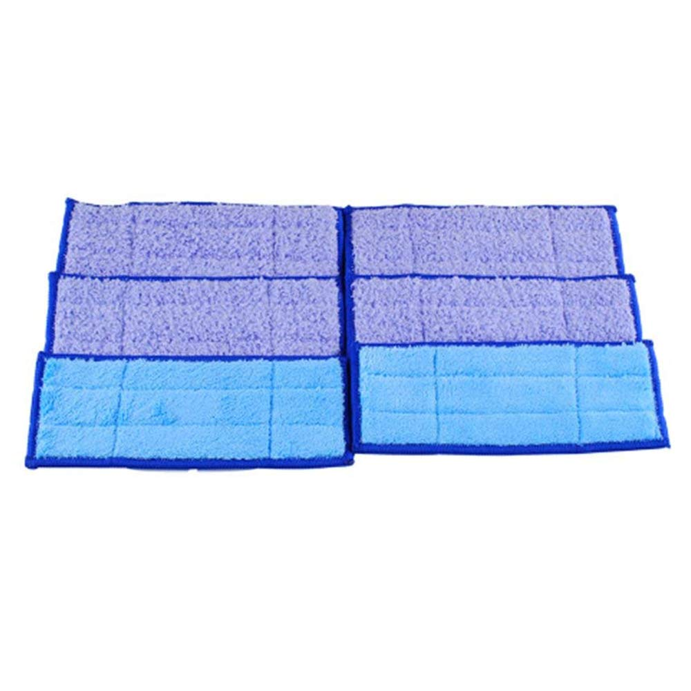Podoy 240 Jet Pads for Irobot Braava 241 Washable Reusable Wet/Damp/Dry Mopping Replacement by