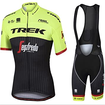 summerest Mens Cycling Jersey Team Cycling Clothing Jersey Bib Shorts Kit  Shirt Quick Dry Bicycle Outdoor 5a1f241d0